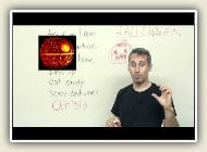 Holiday Vocabulary in English - Halloween (and idioms about DEATH)